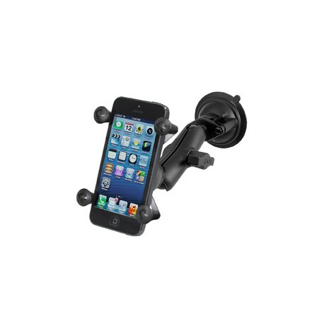 RAM Twist Lock Suction Cup Mount with Universal X-Grip® Cell/iPhone Holder