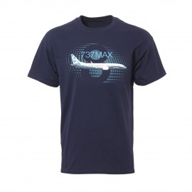 737 MAX Graphic Profile T-shirt