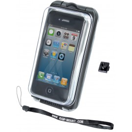 RAM AQUA BOX® Pro 10 Case with BELT CLIP BUTTON and LANYARD for the iPhone 4 & 3