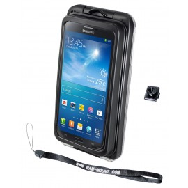 RAM AQUA BOX® Pro 20 Case with BELT CLIP BUTTON and LANYARD for the iPhone 5, 4 & 3