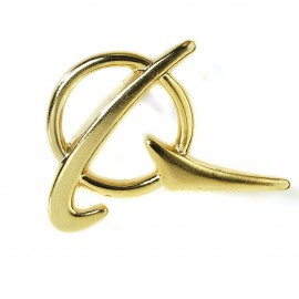 Boeing Symbol Gold Lapel Pin