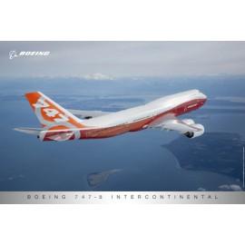 747-8 Sunrise Livery Poster (plagát)