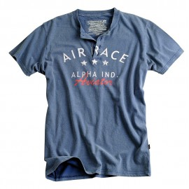 Aviator Button T-shirt