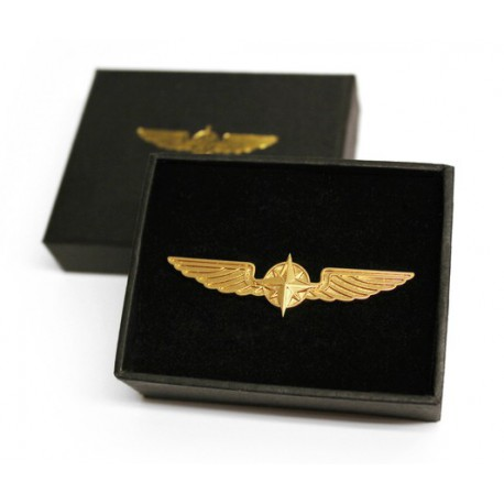PILOT WINGS gold 5cm