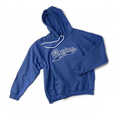 Baseball Applique Hoodie - Men