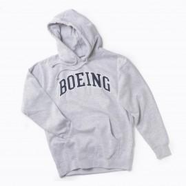 Varsity Pullover Hooded Sweatshirt (Boeing) -navy blue