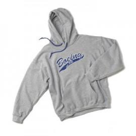 Baseball Applique Hoodie (mikina Boeing) -modrá