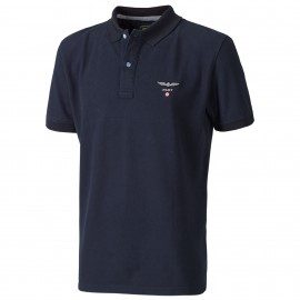 PILOT Polo Shirt NAVY BLUE