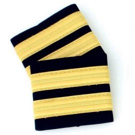 2 stripes Epaulettes for Cadetts, Engineers..