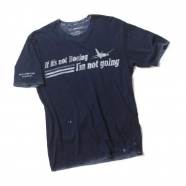 "T-shirt ""If It's Not Boeing, I'm Not Going"""