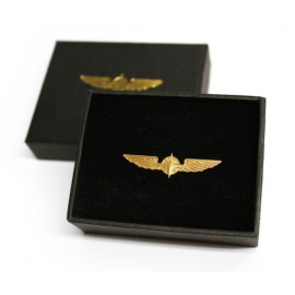 PILOT WINGS gold 3,5cm
