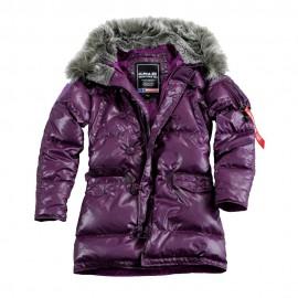N3B Down Jacket Wmn (dámska bunda) lila